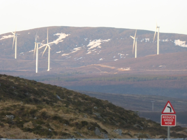 The Windfarm at the Fannichs. Beauty or ?