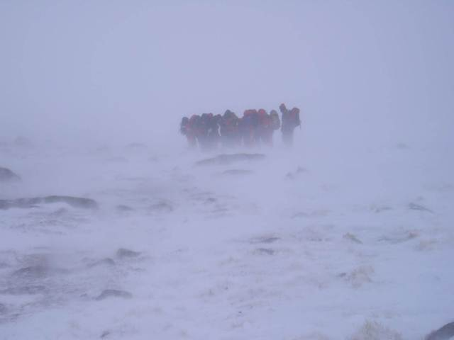 Typical winter conditions in the Cairngorms are you prepared?