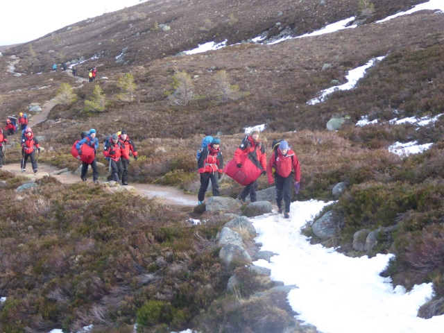 Assynt MRT on there training weekend, a great bunch of people.