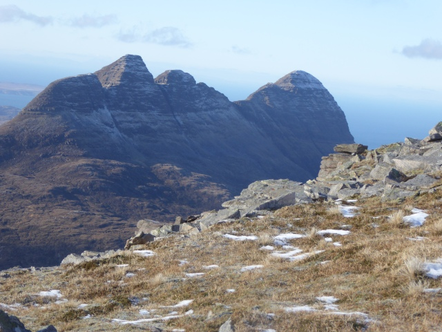 What a hill for views of Suiliven.
