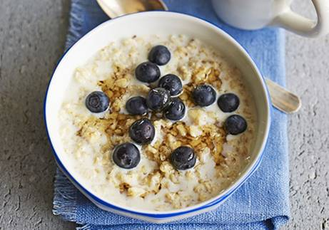 Porridge the best meal of the day.