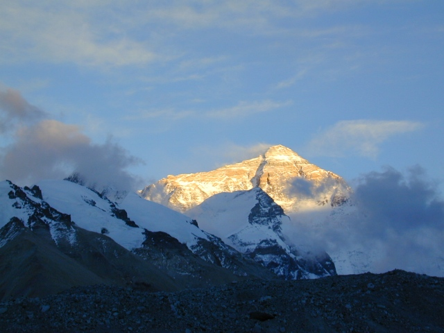 Everest Tibet from the Base Camp!