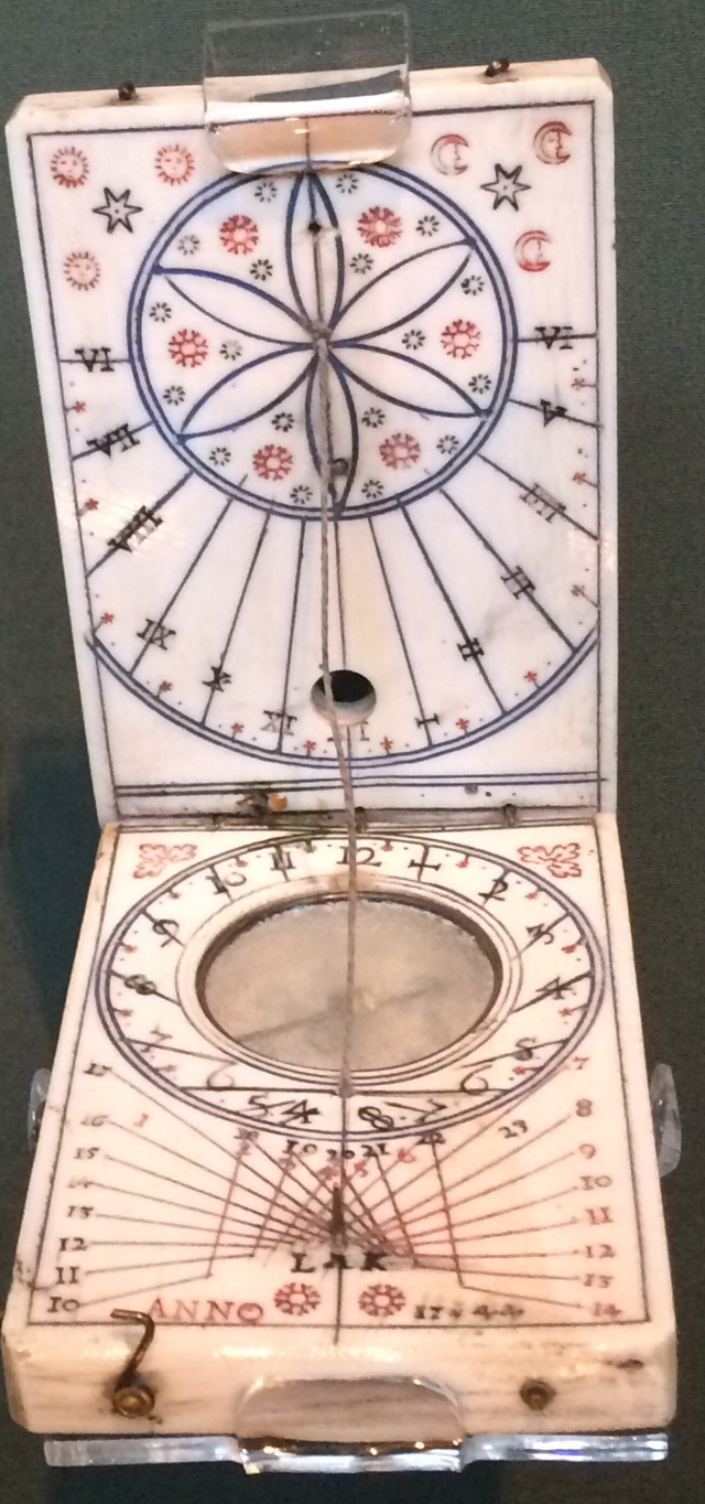 This compass was said to be used by Bonnie Prince Charlie in 1744 just before Culloden !