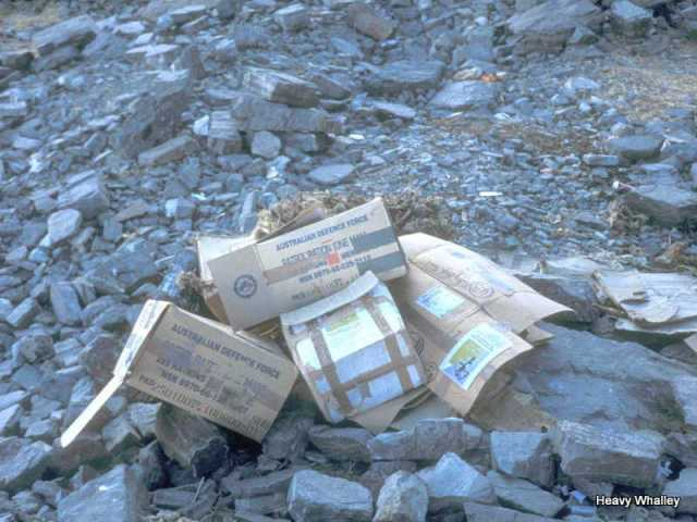 2001 Everest ABC Rubbish