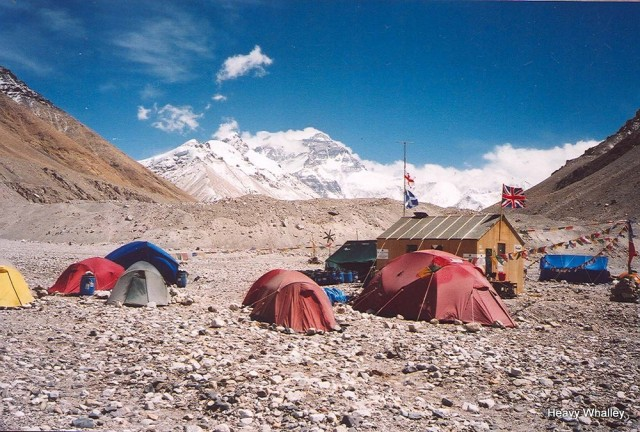 2001 Everest base shed