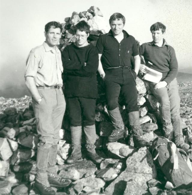 1976 First Munro 1976 An Socach 3097ft Pete Mc Gowan Heavy Whalley, Les Boswell, Mark Cullen