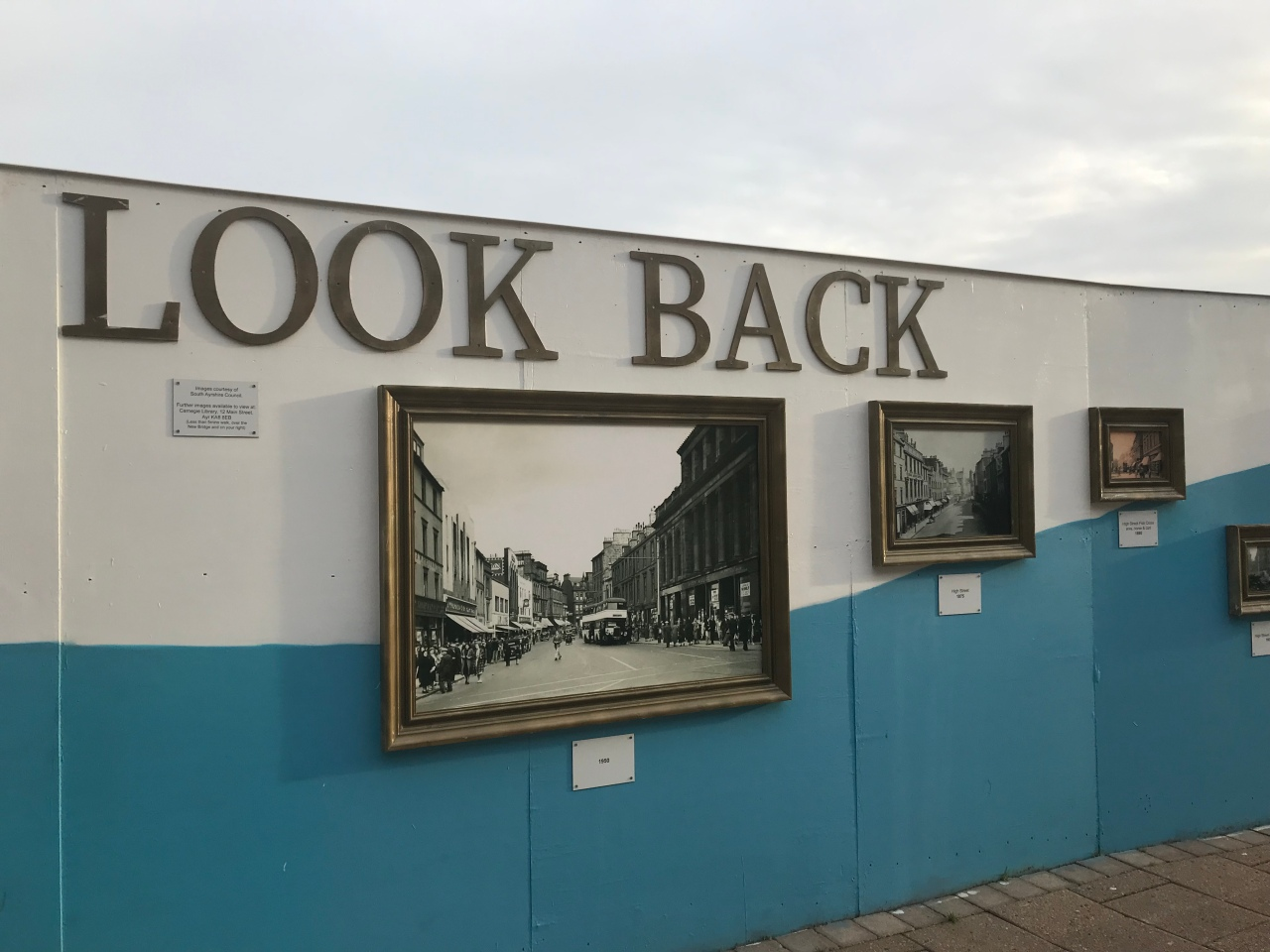 Auld Ayr – what's happening to the High Street? The Ayrshire's Coastal Path a visit to watch Ayr United . Catching up with family. Kilimanjaro update.