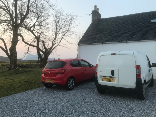 Our lovely cottage at Elphin