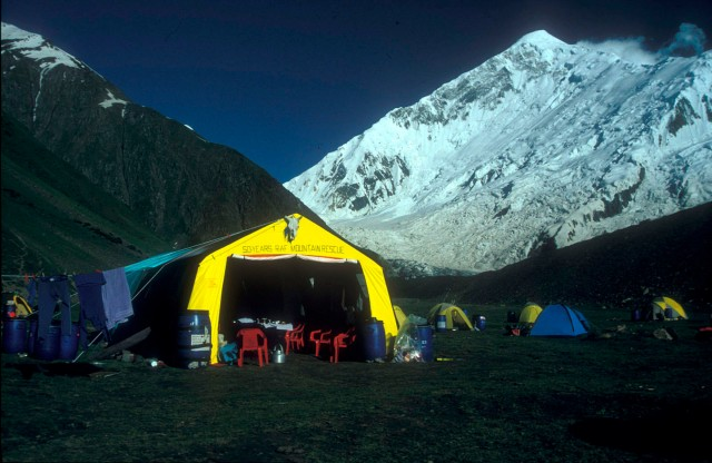 Diran Base Camp.